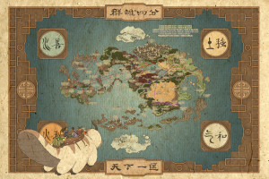 Appa and the gang (World Map)