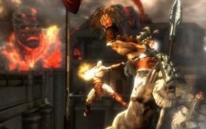 god of war scene