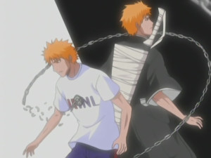Ichigo human vs shinigami