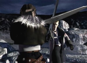cut scene Squall vs Seifer