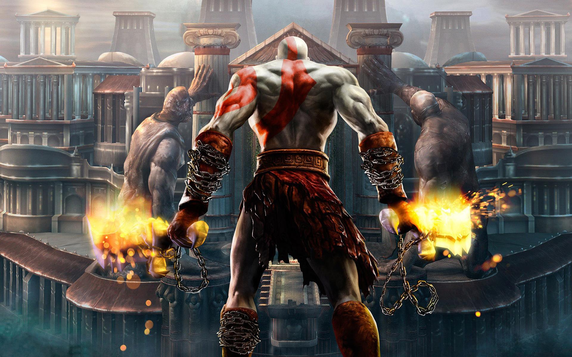 God Of War Omega Swords
