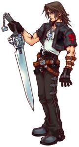 Squall-KH-gunblade