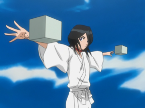 Rukia before execution