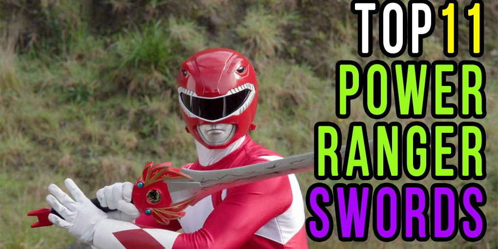 power ranger swords top 11